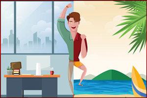 Офис и пляж
