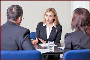 Интервью о приеме на работу