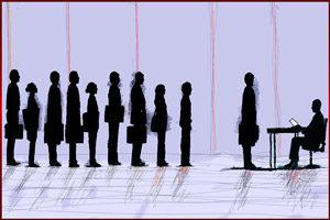 Люди в очереди