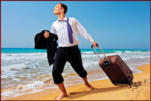 Уход в отпуск