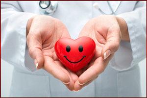 Сердце с улыбкой