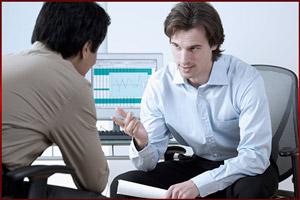 Разговор начальника с увольняемым