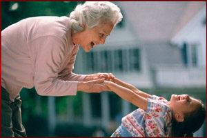 Бабушка в декрете