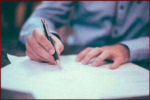 Писать на бумаге