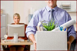 Офисные вещи в коробке