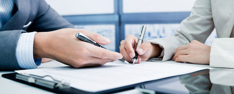 Как в договоре прописывается место работы