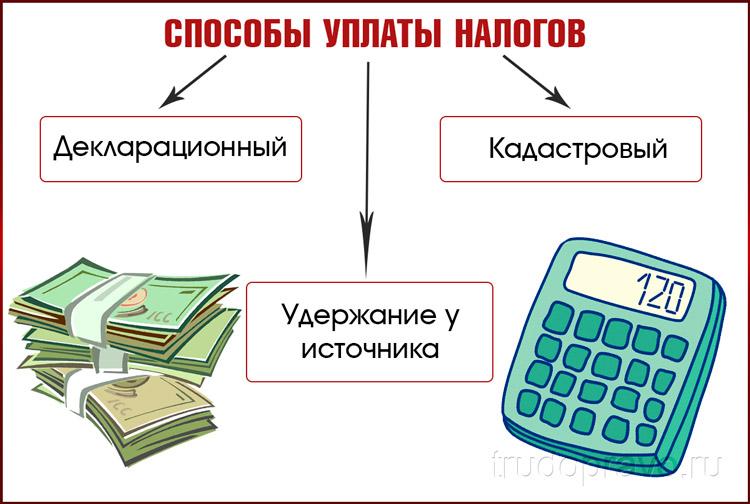 Уплата налогов