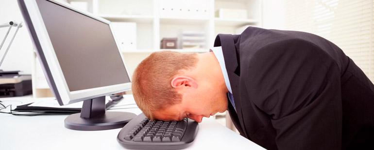 Отдых при работе за компьютером
