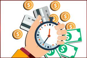 Время уплаты