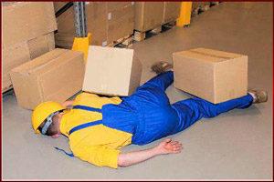 Травма на складе
