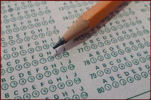 Тест и карандаш