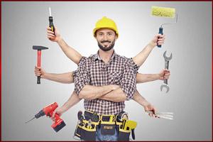 Сотрудник строительной фирмы