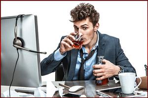Пьянство на работе