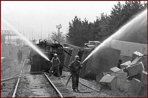 Пожарные на Чернобыльской катастрофе