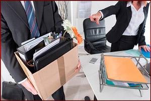 Директор увольняет работника